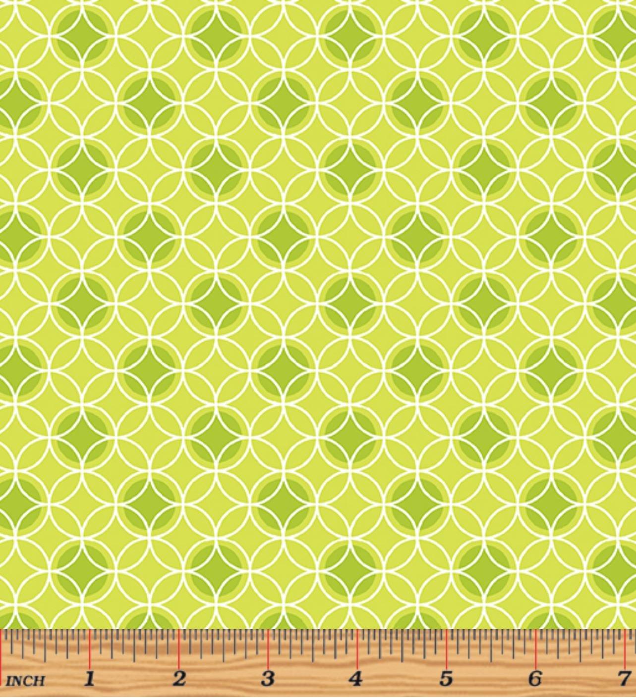 Bree 2134-40 Dot Circle Green