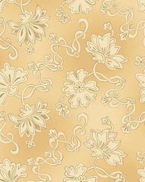 Forever Spring 4263-77 Squash Blossoms Beige