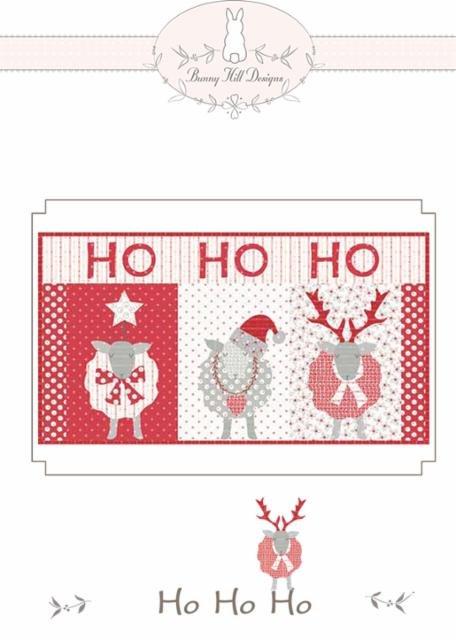 Ho Ho Ho pattern - Country Christmas