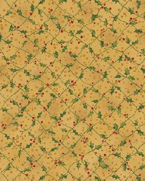 I Believe in Santa 3743-30 Criss Cross Amber