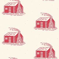 Little House on Prairie Scenics & Icons 7925R Red