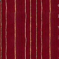 Santa's Coming 505-10 Shimmering Stripes Red
