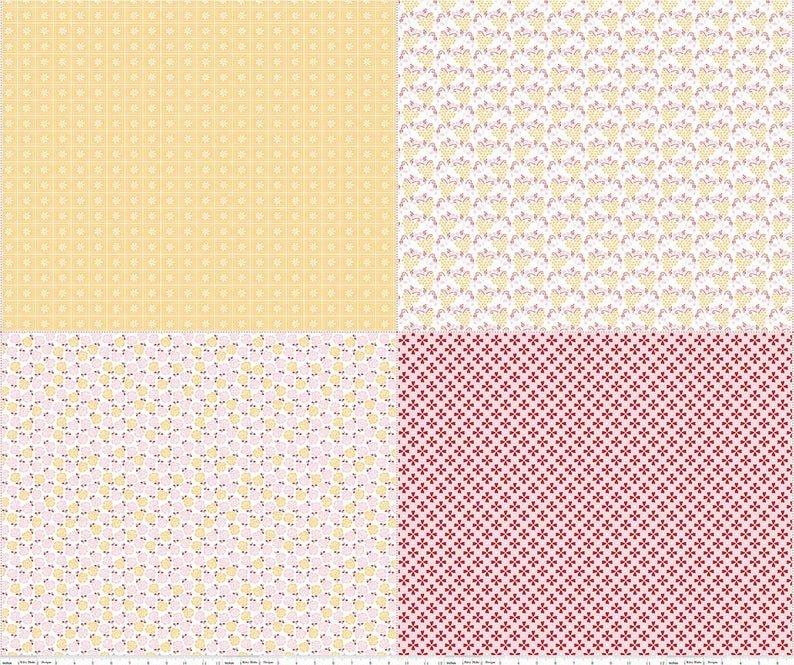 Sew Cherry 2 5809 Yellow