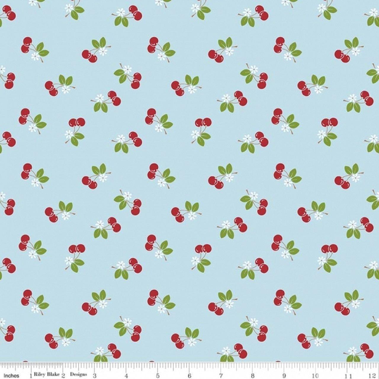 Sew Cherry 2 C5804 Aqua
