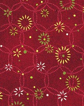 Jingle All the Way 4527-26 Shining Bright Berry