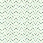 Aunt Grace Backgrounds- 8352-0114- Green Zig Zag