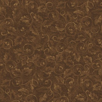 Tried and True 4277-96 Embossed Leaves Mocha