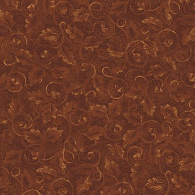 Tried and True 4277-88 Embossed Leaves Rust