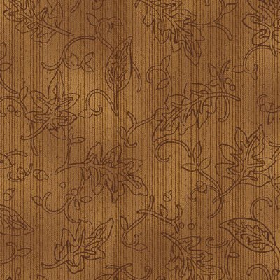 Tried and True 4275-31 Leaf Embroidery Amber