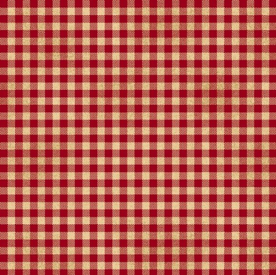 Welcome Wagon 6565-88 Red/Wh Plaid