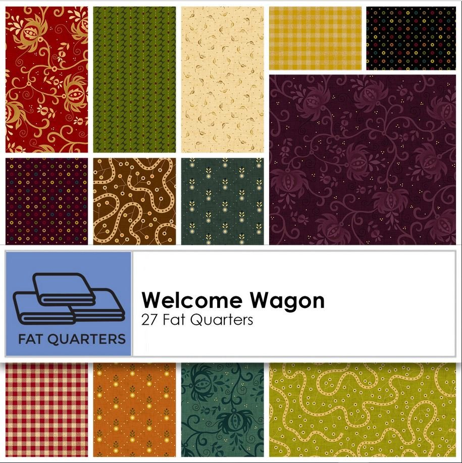 Welcome Wagon Fat Quarter Pack HEG1009