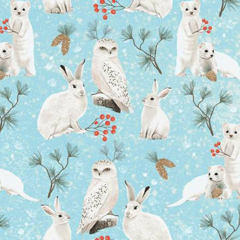 Winter Woodland Animal Toss Y2728-11