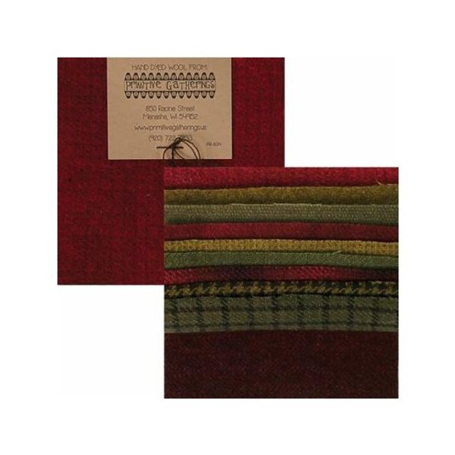 Wool Charm Pack - PRI 6014  Holiday