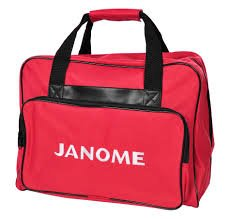 JANOME Sewing Machine Tote Bag -Red