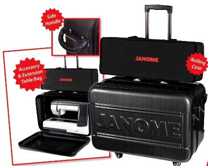 JANOME 15000 & 12000 Roller Case, hard