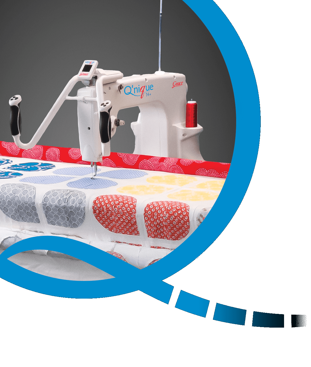 QNIQUE 15 Quilting Machine With Continuum King Frame