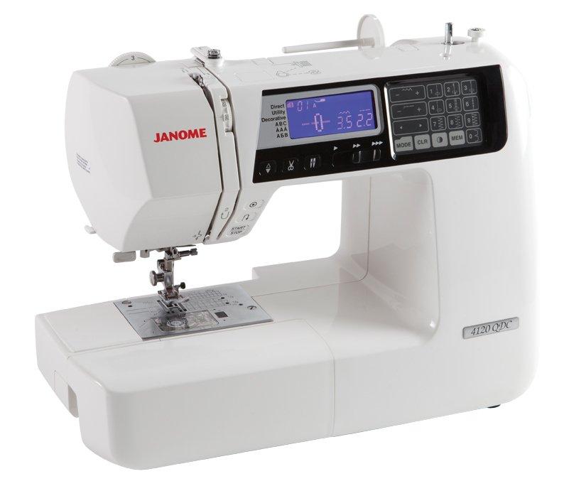 JANOME 4120QDC-T Computerized 200 Stitch  Sewing Machine