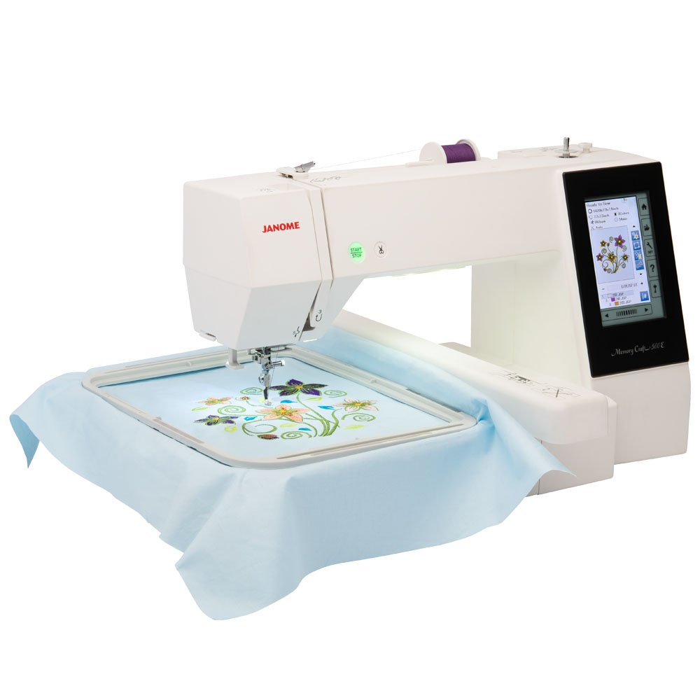 JANOME MC500E Embroidery-Only Machine