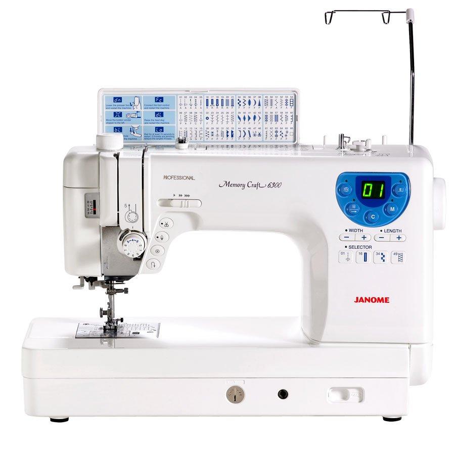 JANOME 6300P Quilting Machine
