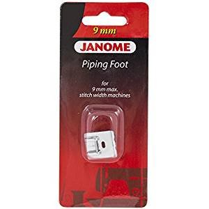 JANOME 9MM PIPING FOOT