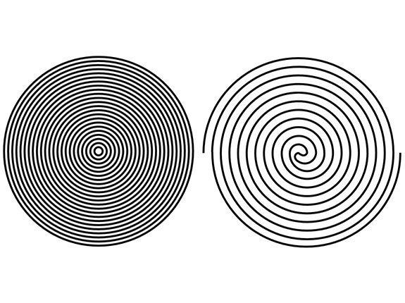 Dueling Circles 13 Inch X 24 Inch Groovy Board (Single Board)