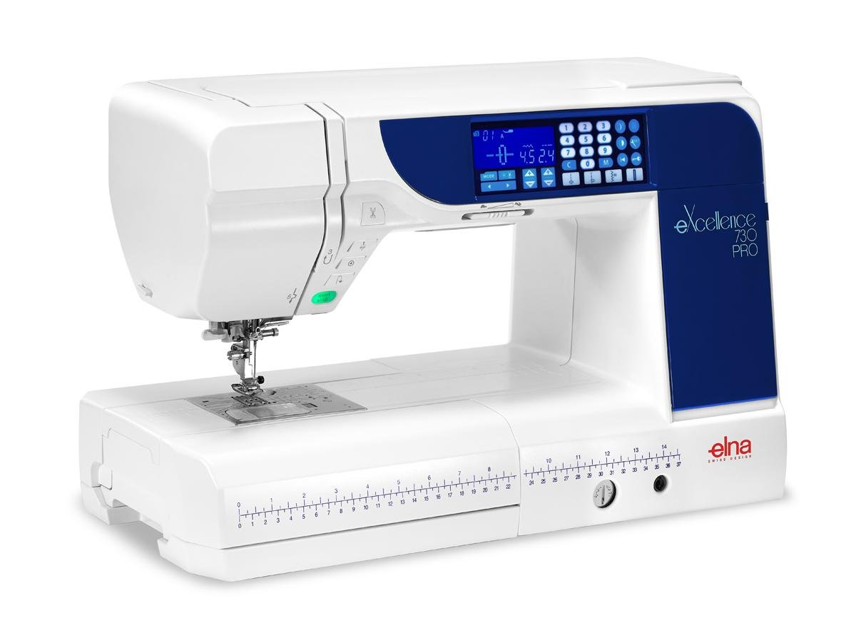 ELNA 730 PRO Computerized Sewing /Quilting machine with 11 Arm