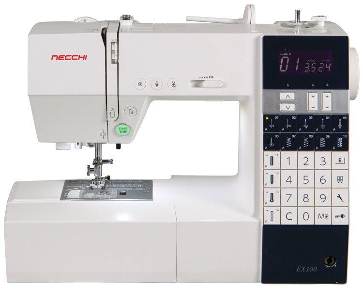 NECCHI EX100 Deluxe Computerized Sew Machine