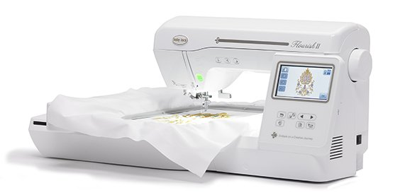BABY LOCK FLOURISH 2 Embroidery Only Machine