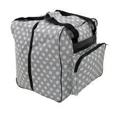 Gray Polka Dot Serger Bag MR4650.008