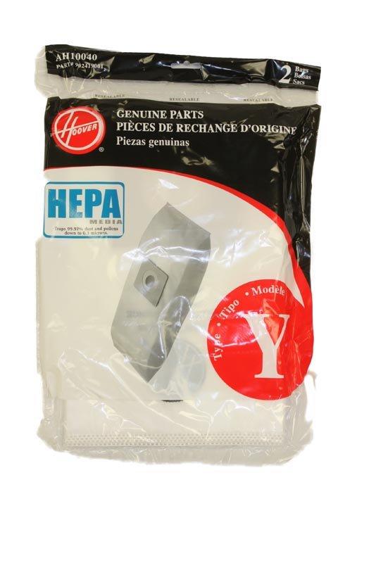 HOOVER Y HEPA bags, 2 pack