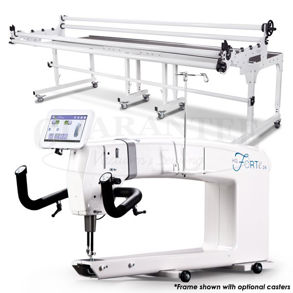 HANDI QUILTER Forte 24 Inch Longarm Quilting Machine with Frame