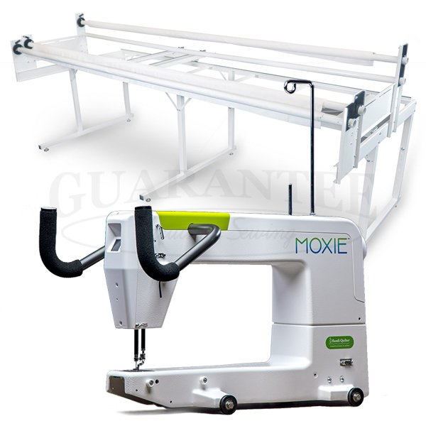HANDI QUILTER Moxie 15 Inch Longarm Quilting Machine with Frame