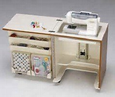 TAILORMADE HS-C58 COMPACT Sewing Machine  Cab / Teak