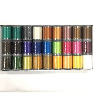 Janome Polyester Embroidery Thread Set 1