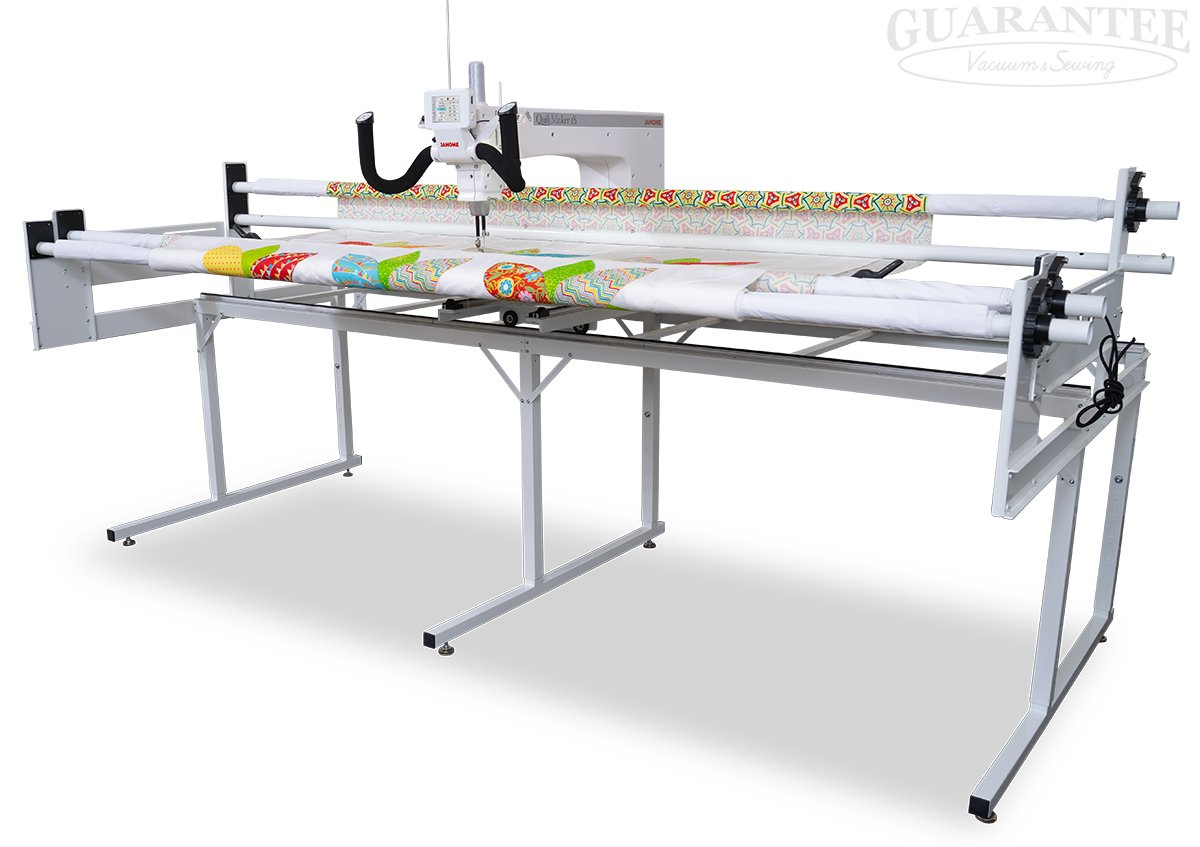JANOME Quilt Maker 18 Long Arm Quilting Machine and Frame