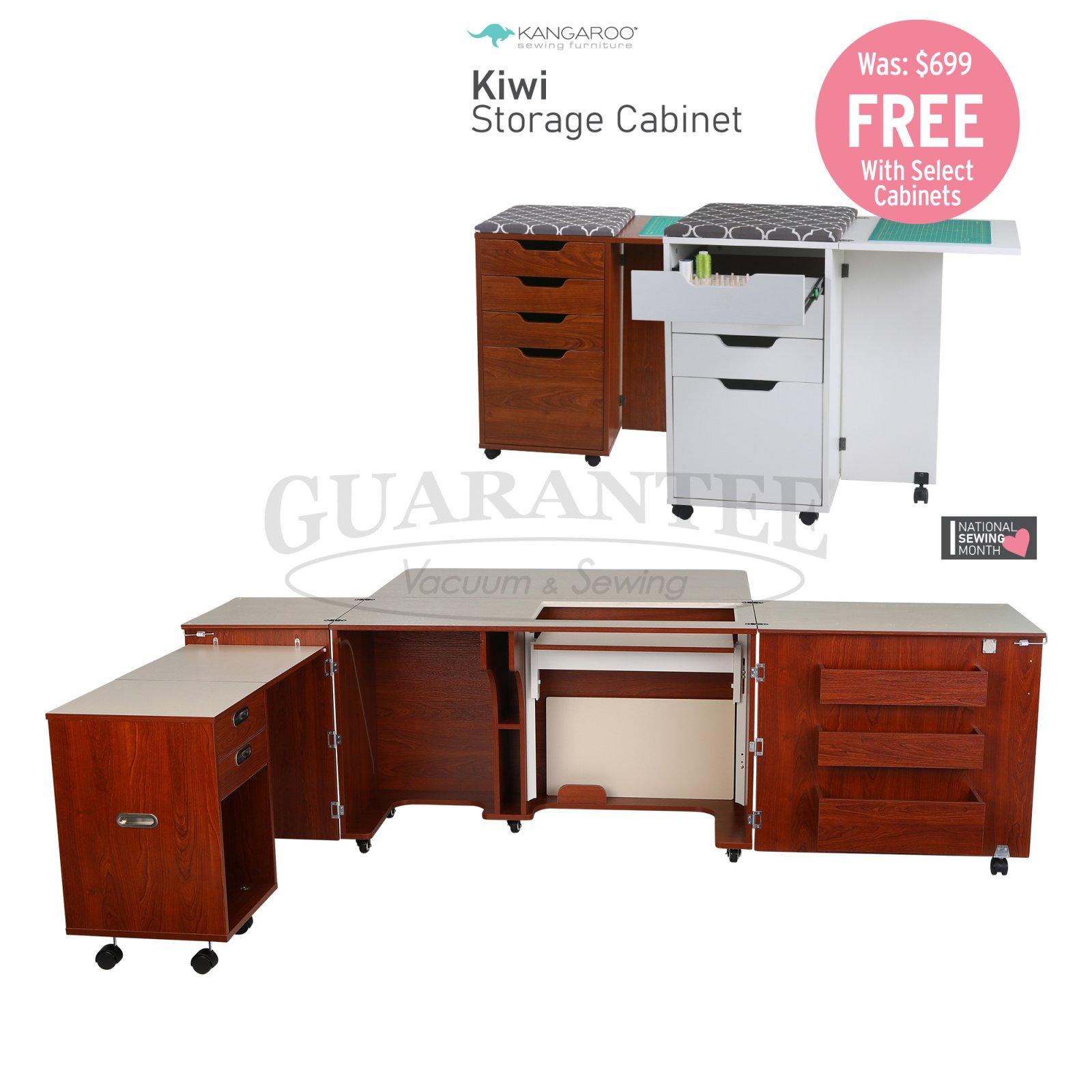KANGAROO Aussie II Sewing Cabinet (Choose Your Finish)