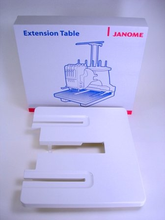 JANOME MB4 / MB7 Extension Support Table