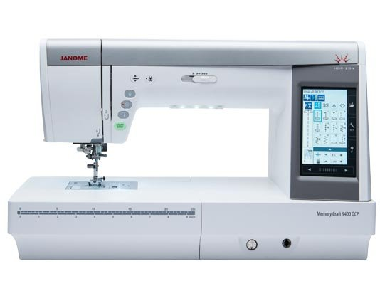 JANOME MC9400 Horizon Quilting/Sewing 11 1/8 Extended Arm