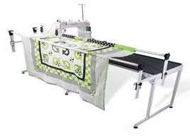 QNIQUE 15 Quilting Mach With Q-Zone Queen Frame   SALE $4999