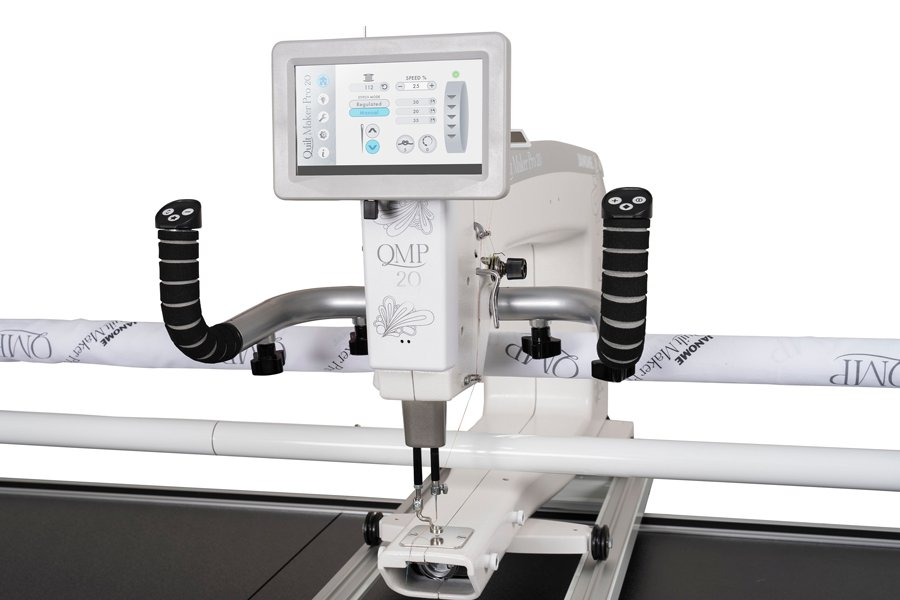 JANOME Quilt Maker Pro 20 inch Long Arm with 12 Ft Frame