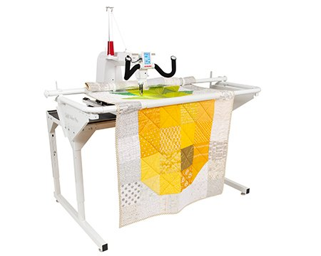 JANOME Quilt Maker Pro 16 machine and 5' Little Foot Frame
