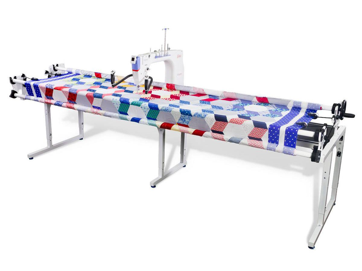 QNIQUE 21 inch Long Arm Quilting Machine with Continuum Frame