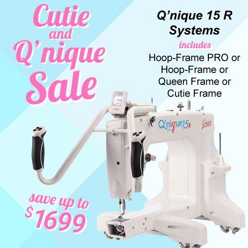 QNIQUE 15R Long Arm Quilting Machine with Stitch Regulator
