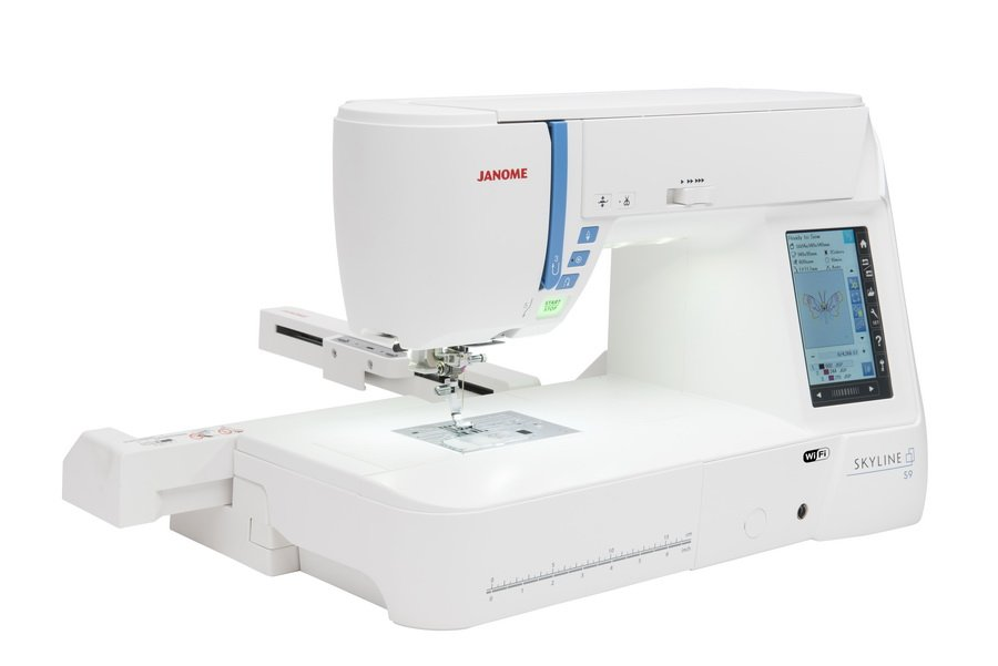 JANOME SKYLINE S9  Sewing / Embroidery/Quilting 8 1/4 Extended Arm