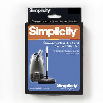 SIMPLICITY Full-Size Canister HEPA filter set