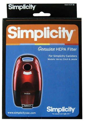 SIMPLICITY VERVE HEPA Filter Set