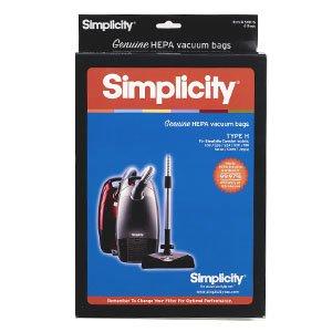SIMPLICITY H HEPA bags, 6 pack