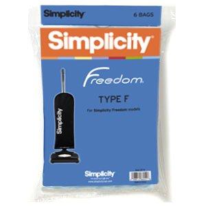 SIMPLICITY F paper bags, 6 pack