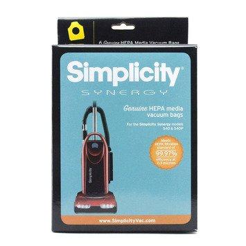 SIMPLICITY P HEPA Bags, 6 pack