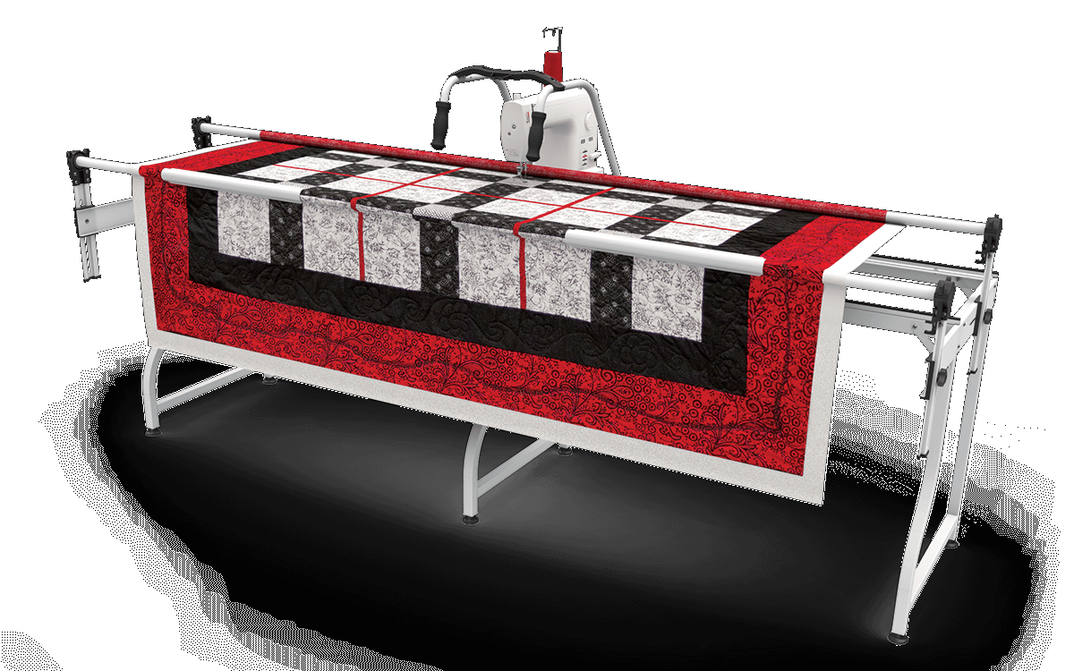 QNIQUE 15 Quilting Mach With SR-2 Queen Frame